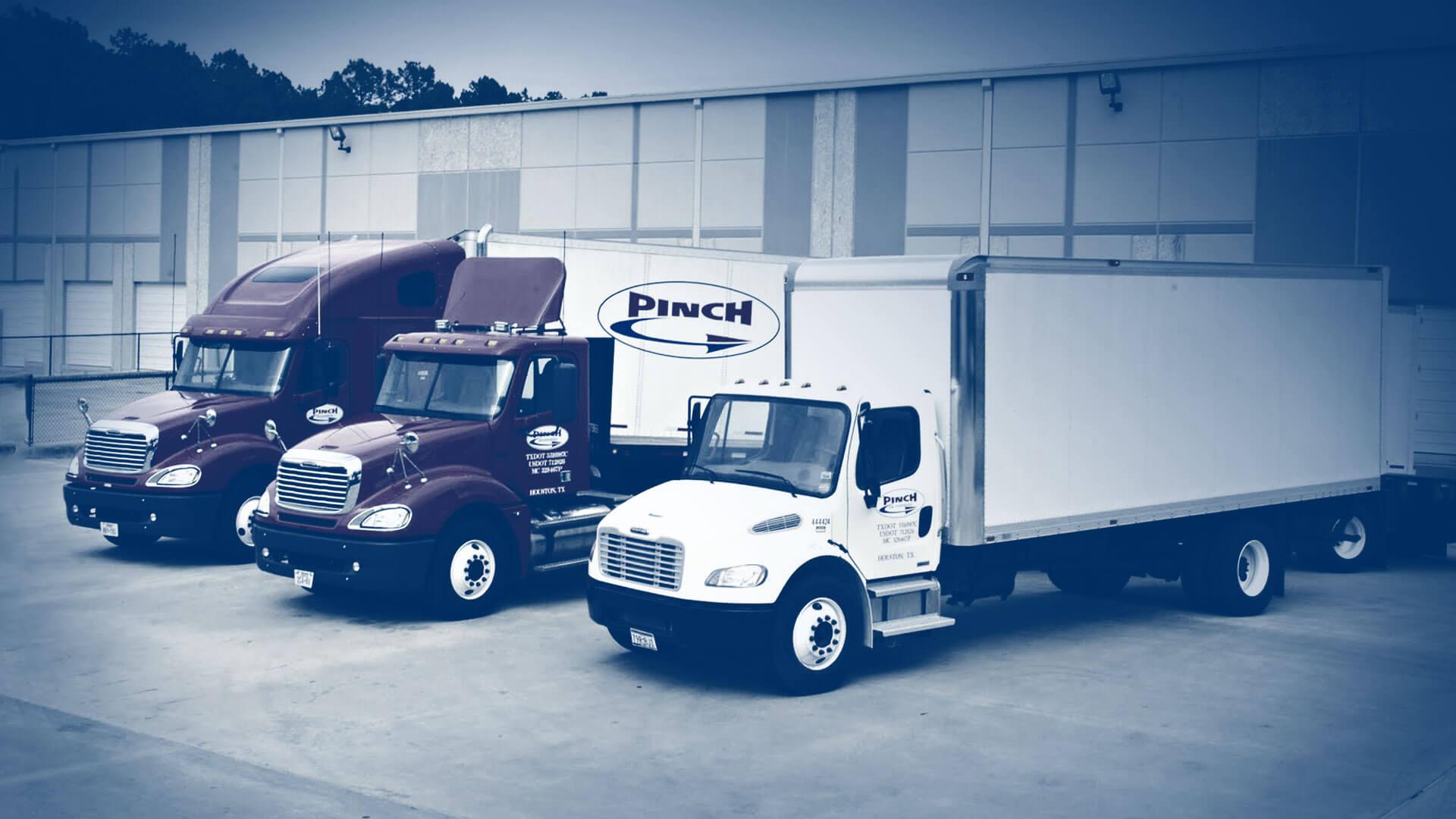 Pinch Transport – Transportation Professionals